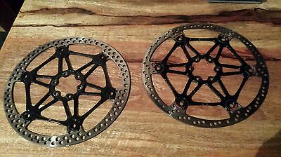 Hope floating m6 rotors 203mm (sale is for the pair!) Downhill fr xc enduro