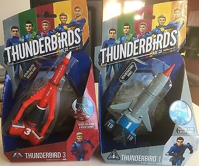 Thunderbirds Are Go - Thunderbirds 1 & 3 New
