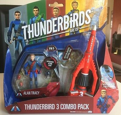 Thunderbirds Are Go - Thunderbird 3 Combo Pack - New