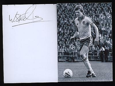 Billy Steele signed photo