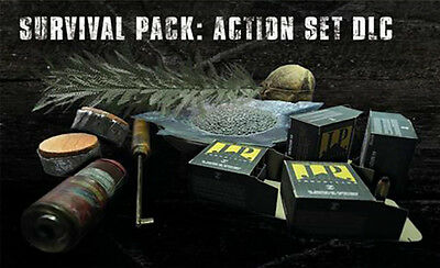 SURVIVAL PACK ACTION SET Ammo Madhouse Mode unlock Resident Evil 7 VII DLC PS4