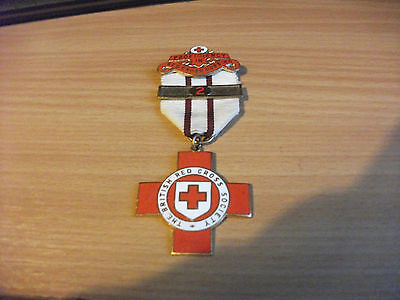 British Red Cross Society medal with Proficiency in Nursing clasp