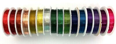 Reel of Copper Wire, choose colour & size, wirework tiara craft jewellery making
