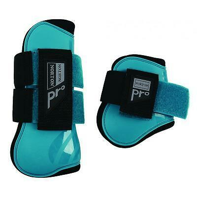 Norton Pro Tendon and Fetlock Boots Turquoise Pony or Full