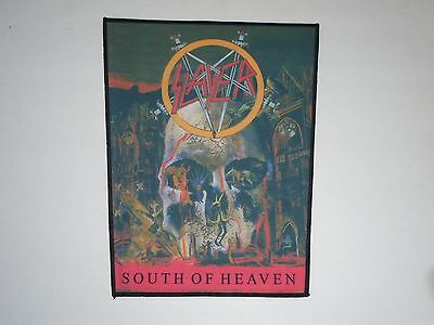 Slayer South Of Heaven Sublimated Back Patch