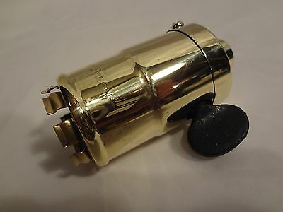 antique lamp socket,patent 1892 Perkins w/Westinghouse base,rare early version!