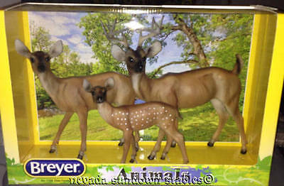 Breyer Models Nature Series Deer Family Gift Set