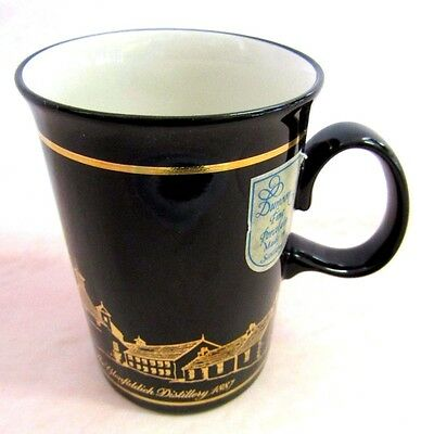 The Glenfiddich Distillery Fine Porcelain Coffee Tea Mug Made By Dunoon Scotland