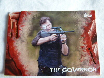 The Walking Dead  Survival Box Base Card #15 The Governor