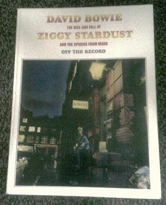 DAVID BOWIE THE RISE & FALL OF ZIGGY STARDUST - MUSIC BOOK TABLATURE PIANO etc