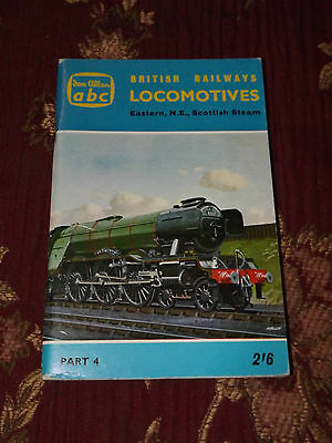 Ian Allan ABC BR Eastern NE Scottish Locomotives Steam Locos Book 1962