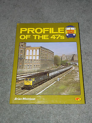 Profile of the 47s Class 47 Loco Book OPC D1500 Diesel Locomotive