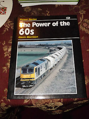 Power of the 60s Class 60 Loco Book OPC Diesel Locomotive