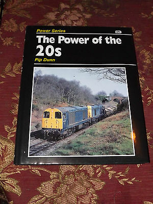 Power of the 20s Class 20 Loco Book OPC Diesel Locomotive