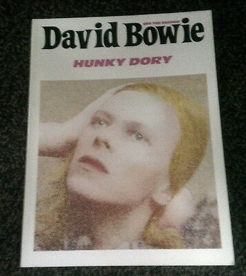DAVID BOWIE HUNKY DORY - MUSIC BOOK TABLATURE PIANO etc