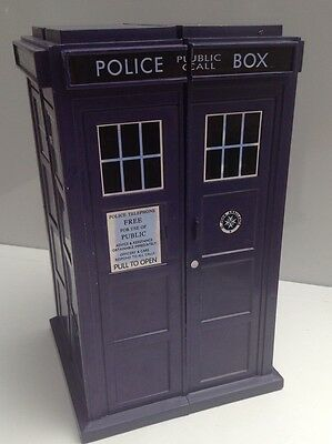 Doctor  Who Tardis Storage Case Box  9 Inches Tall With 6 Drawers Inside