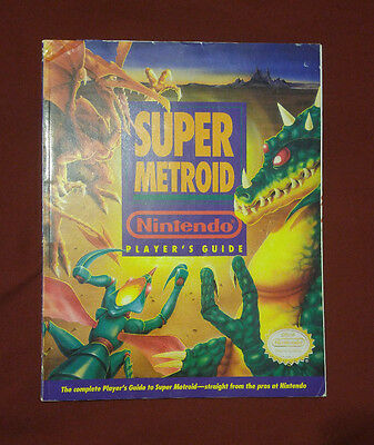 Super Metroid (SNES) Super Nintendo Official Player's Strategy Guide