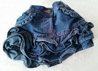 ♡Baby Girls 1.5-2yrs Denim Ra Ra Skirt♡