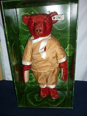 """STEIFF BEAR ALFONZO,13"""" HIGH IN A LIMITED EDITION No3168 OF 5000,BOXED."""