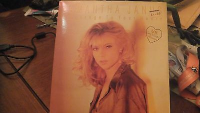 "Samantha Janus - A Message To Your Heart    7"" Vinyl Ps"