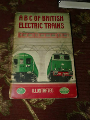 Ian Allan ABC British Electric Trains Locomotives Locos Book 1948 EMU Unmarked
