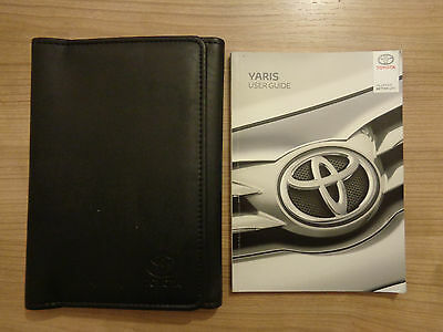 Toyota Yaris Owners Handbook Manual and Wallet 14-17