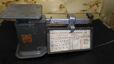 Vintage Triner Air Mail Airmail Accuracy Postal Balance Scale