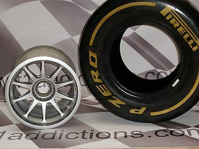 World championship winning wheel with tyre and wheel nut. Great opportunity.