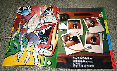Motley Crue JAPAN tour book 1989/90 CONCERT PROGRAM others available DR FEELGOOD
