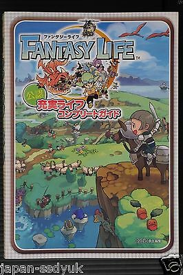 JAPAN Fantasy Life Offisial Complete Guide