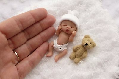 ♡ ♡  Ooak Newborn Baby *MADE FOR YOU * Full Sculpt by Artist  ♡ Sale  ♡