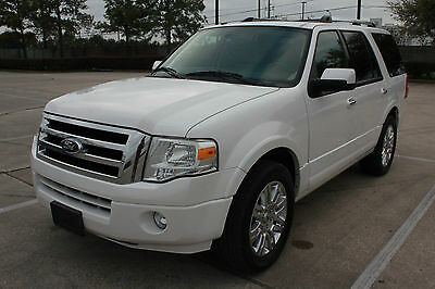 2014 Ford Expedition LIMITED Sport Utility 4-Door 2014 FORD EXPEDITION Limited Captain seating 7 passenger DVD  5.4L V8 NO RESERVE