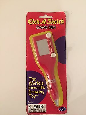 New Mini Etch A Sketch Game Pen Novelty Collectible Item