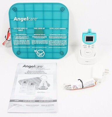 ANGELCARE AC401 Monitor W/ Sensor Pad Charger and Manual  C1