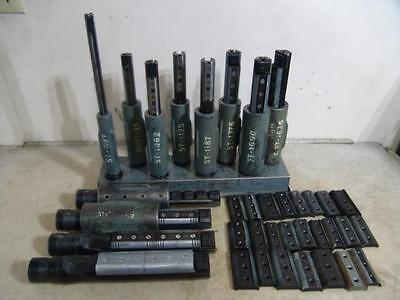 Lot Of Large Sunnen Honning Mandrels With Sleaves