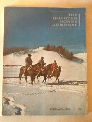 Lot Of 2 1964 Quarter Horse Journals