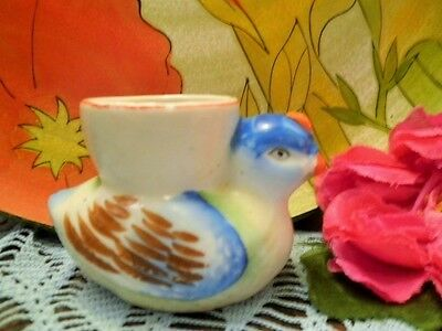 Vintage Egg Cup Duck Chicken? Occupied Japan Ww11 Childs Easter Egg Cup Novelty