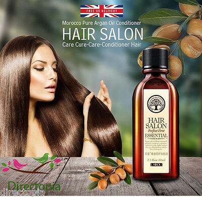 100% Pure Naturel Original Laikou Morocco Argan Oil Traitement Pour Cheveux 60ml