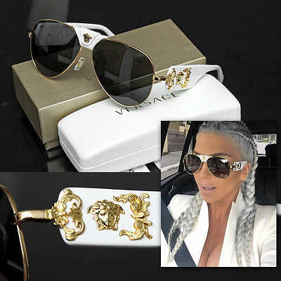 durable in use buy online many choices of $490 GIANNI VERSACE Baroque Medusa SUNGLASSES w/ Certificate ...