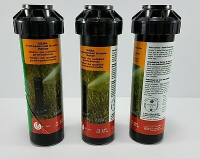 Rain Bird 32SA Lawn Sprinklers Professional Grade Rotor 3 pack Rain Bird LOT NEW