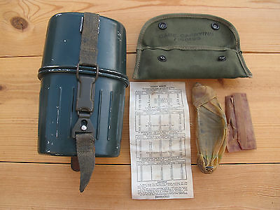 German Military Mess Kit Psl 73 & New American M15 Grenade Launcher Sight