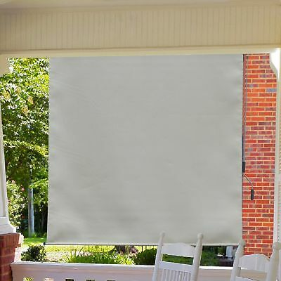 Outsunny 6'x6' Window Roller Blind Home Roll Up Blind Window Blackout Sun Shade