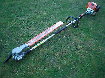 Stihl HL100 Long Reach Multi Angled Hedge Cutter Trimmer New Shape HL95 KM130