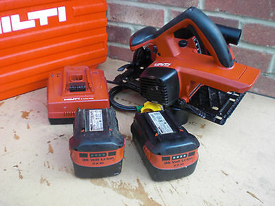 WSC-70 A Hilti  36V Cordless Circular Saw & Case & 240v Charger & 2 Batteries