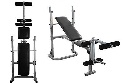 Weight Lifting Bench Chest press leg extension Folding Adjustable Training Bench