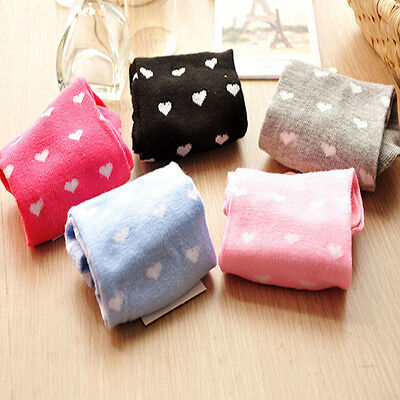 5 Pairs Girls Womens Cotton Socks Casual Heart Ankle High Low Cut Sock