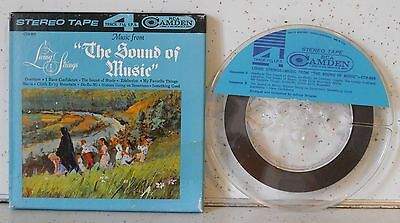 The Living Strings / Music From The Sound Of Music  Reel To Reel Tape Tested