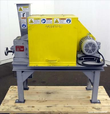 """Used- Sturtevant Jaw Crusher, Model 2 X 6, Carbon Steel. Feed opening 2"""" x 6"""" wi"""