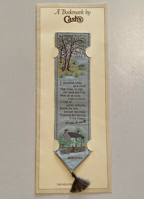 Vintage CASHS Bookmark With Envelope The Weavers Of Coventry