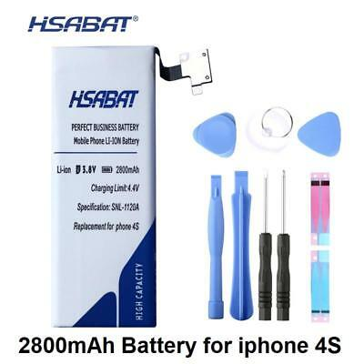 Iphone 4s Battery High Capacity 2800mAh Internal Replacement New Li Ion 4GS New